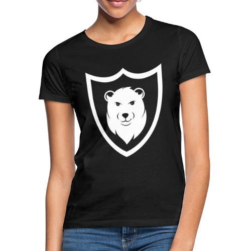 Baerspektivo Logo in weiß - Frauen T-Shirt