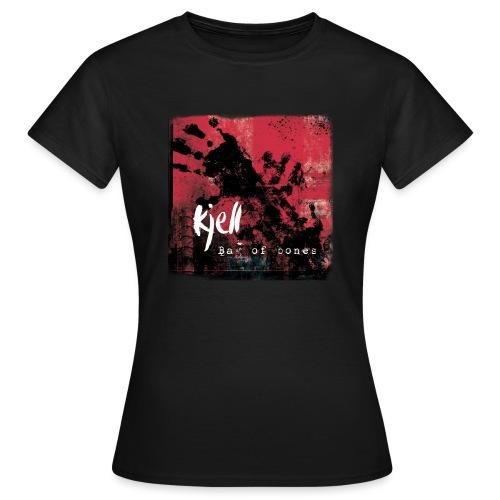 Bake av ben - T-skjorte for kvinner