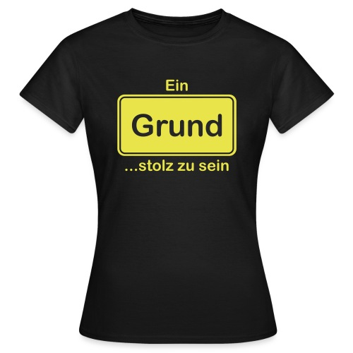 Grund_Shirts - Frauen T-Shirt