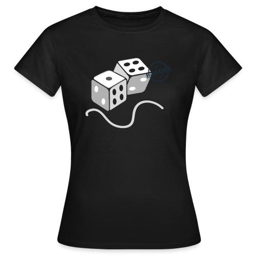 Dice - Symbols of Happiness - Women's T-Shirt