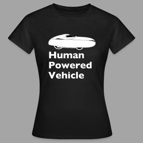 Quest Human Powered Vehicle 2 white - Naisten t-paita