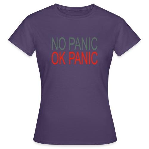 OK Panic - Maglietta da donna