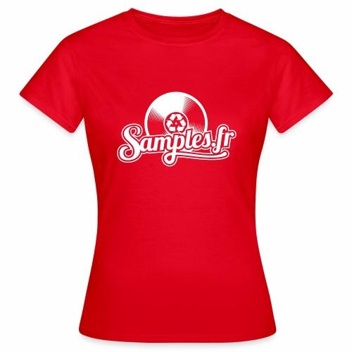 Samples.fr noir - T-shirt Femme