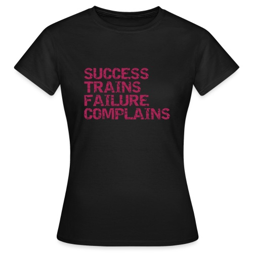 Success trains failure complains