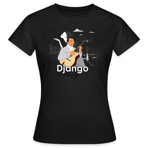 djangoswing - T-shirt Femme