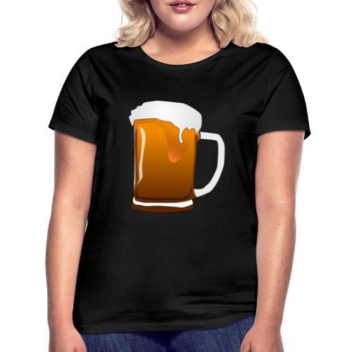 Cartoon Bier Geschenkidee Biermaß - Frauen T-Shirt