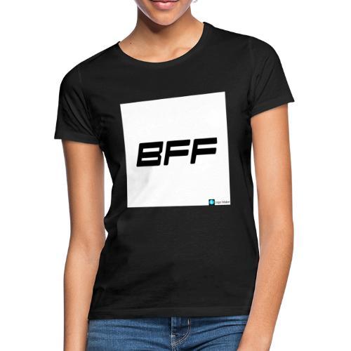 white BFF - T-shirt dam