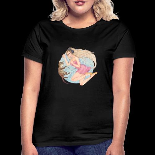 Linneafly - T-skjorte for kvinner