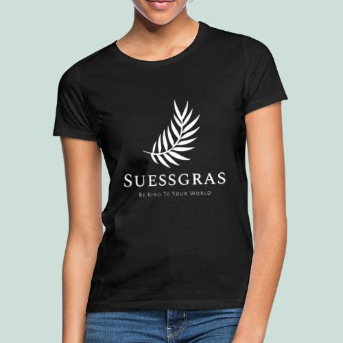 SUESSGRAS WHITE LEAF - Frauen T-Shirt