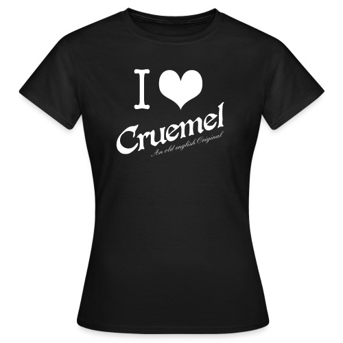 cruemel i heart white - Frauen T-Shirt