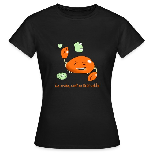crabe png - T-shirt Femme