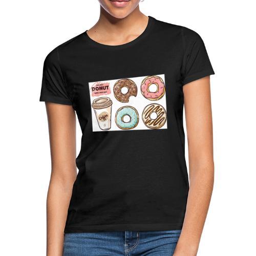 Donut & Coffe - Camiseta mujer