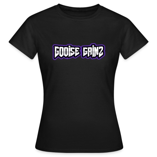 gooise gainz tekst - Vrouwen T-shirt