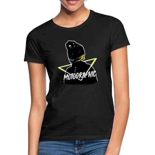 Vrouwen T-shirt - mijn hoofdje door een driehoekje