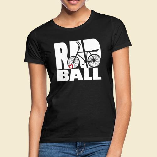 Radball   Typo - Frauen T-Shirt