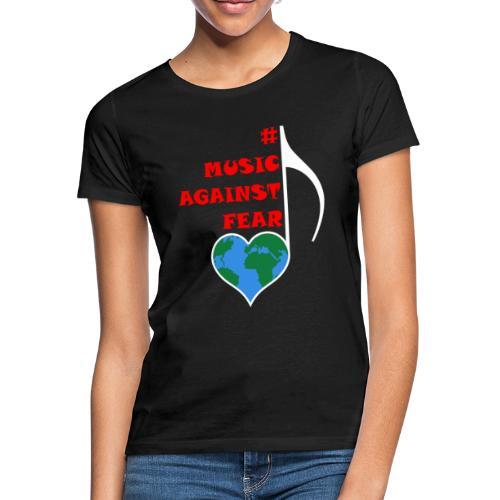 #MusicAgainstFear - Weiß - Frauen T-Shirt