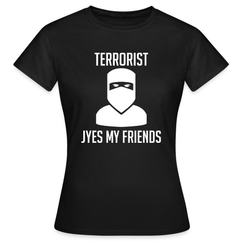 Jyes my friend - T-shirt dam