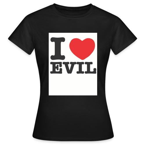 iheartevil2 - Women's T-Shirt