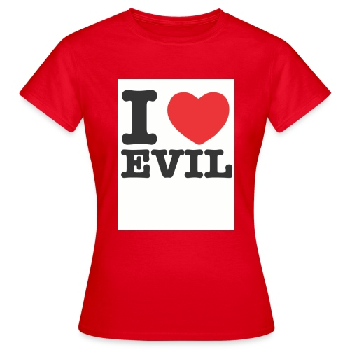 iheartevil2 - Women's T-Shirt