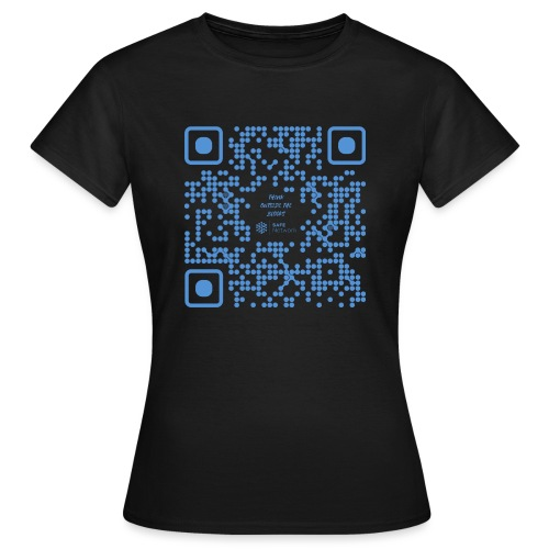 QR The New Internet Shouldn t Be Blockchain Based - Women's T-Shirt