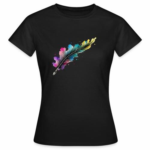 penna piuma - Maglietta da donna