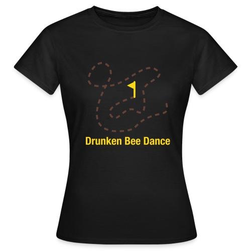 Drunken Bee Dance - Boys Shirt - Frauen T-Shirt