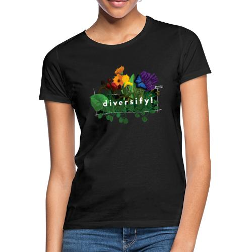 diversify! - Frauen T-Shirt