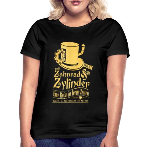 ZuZ 2018 + Brust- & Rückenmotiv - Frauen T-Shirt