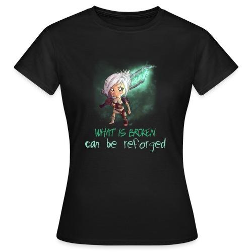 Chibi Riven con scritta DONNA - Maglietta da donna