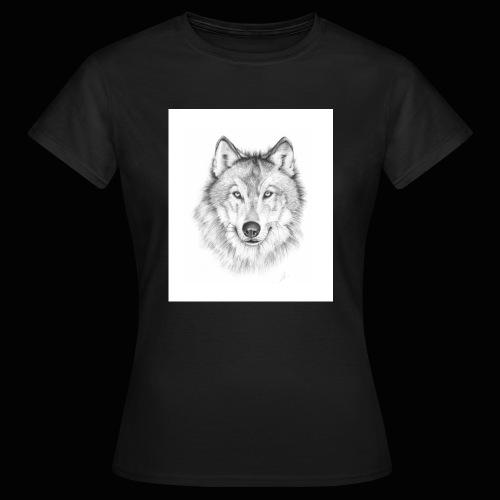 Wolf - Dame-T-shirt