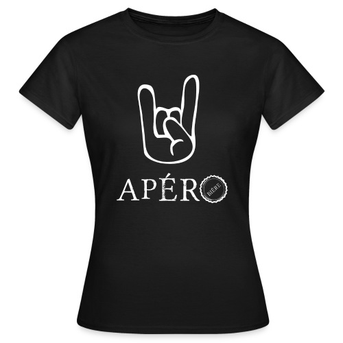 rock and apéro - T-shirt Femme