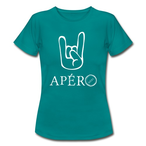 rock and apéro - T-shirt Femme