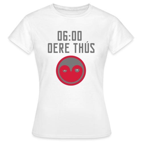 6 oere tus - wit - Vrouwen T-shirt