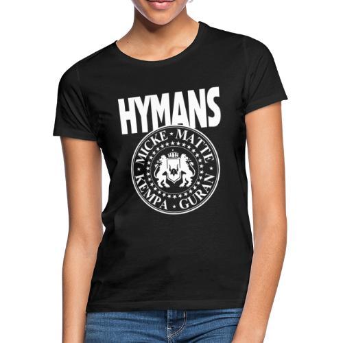 Hymans White classic logo print - T-shirt dam