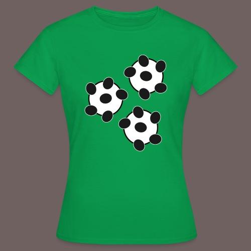 GBIGBO zjebeezjeboo - Fun - Wiggle Wiggle 01 Noir - T-shirt Femme