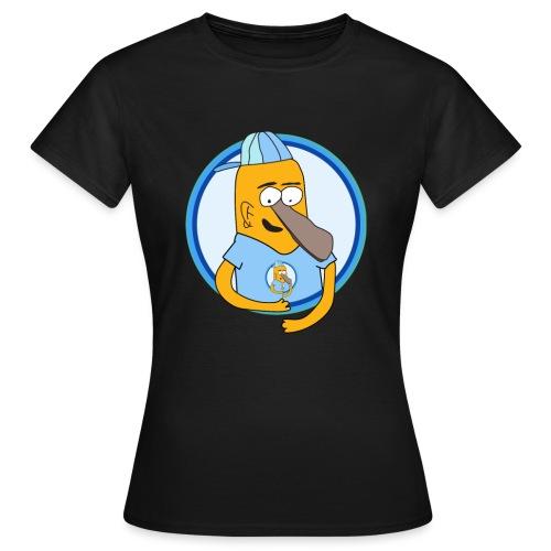 Tryck Tva png - T-shirt dam