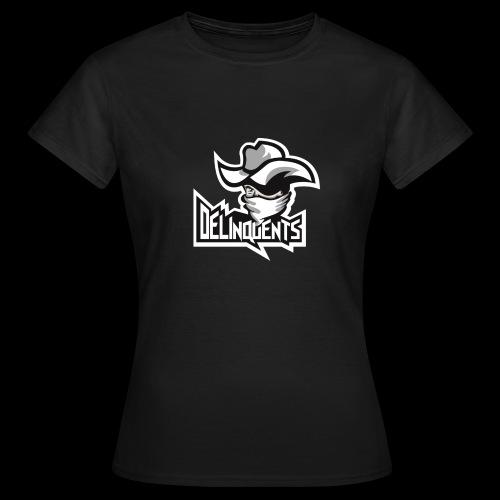 Delinquents Grå Design - Dame-T-shirt