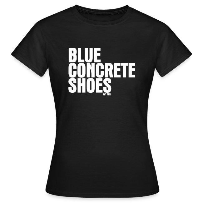 BlUE CONCRETE SHOES