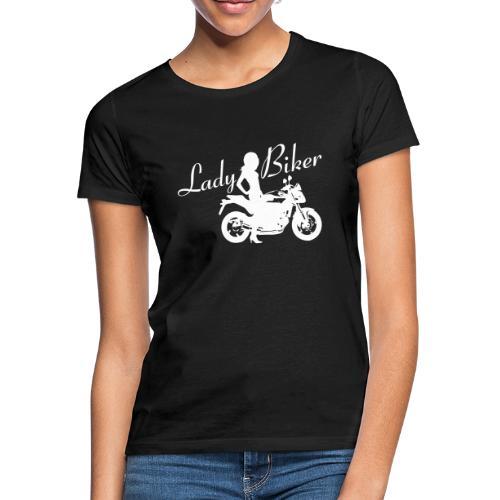 Lady Biker - Naked bike - Naisten t-paita