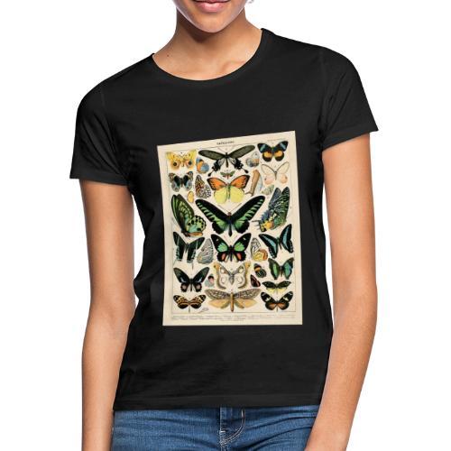 Schmetterlings Arten - Frauen T-Shirt