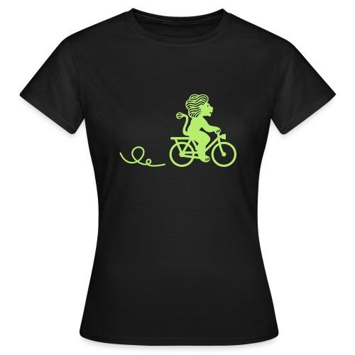 Züri-Leu beim Velofahren ohne Text - Frauen T-Shirt