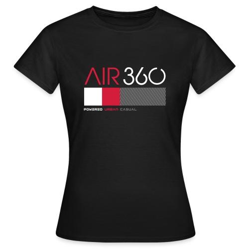 Air360black - Camiseta mujer