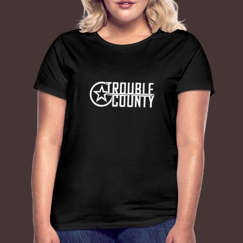 Trouble County Logo - Women's T-Shirt