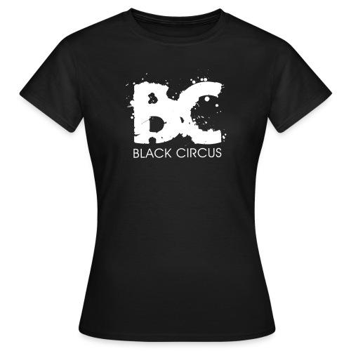 Black Circus Logo white png - Frauen T-Shirt