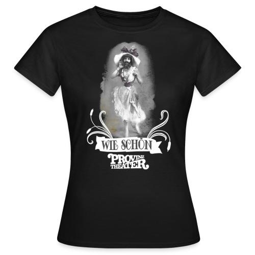 wieschoen weiss - Frauen T-Shirt