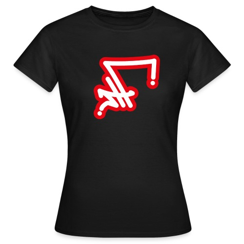 STF TAG - WH RED-01 - Frauen T-Shirt