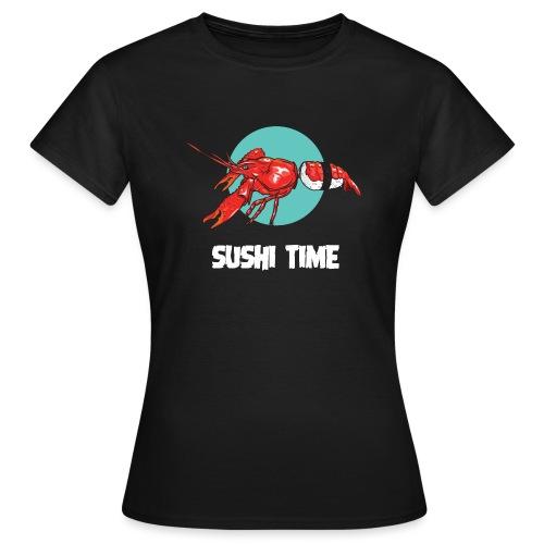 SUSHI TIME-gambero-b - Maglietta da donna
