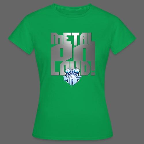 metalonloud large 4k png - Women's T-Shirt