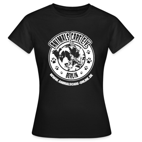 Animals Care Logo - Frauen T-Shirt