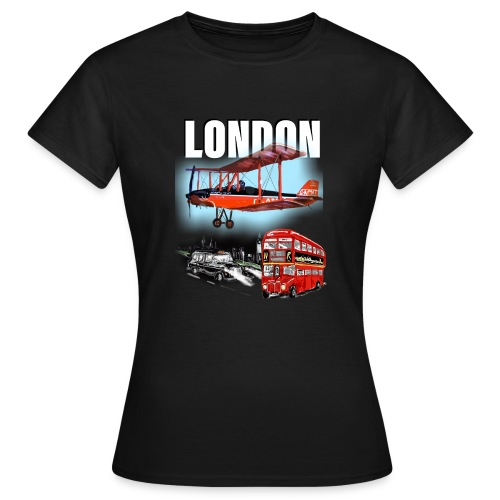 London by day and night! - Women's T-Shirt